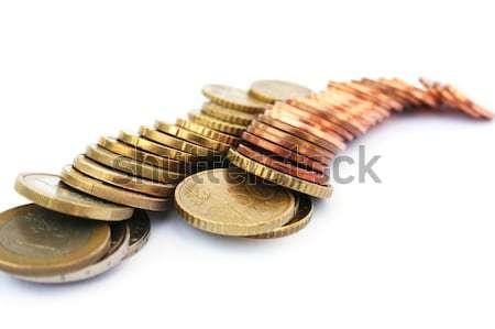 Euro coins Stock photo © ruzanna
