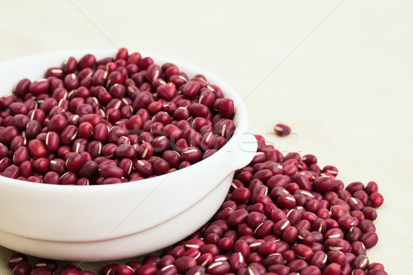 Stock photo: Red bean adzuki