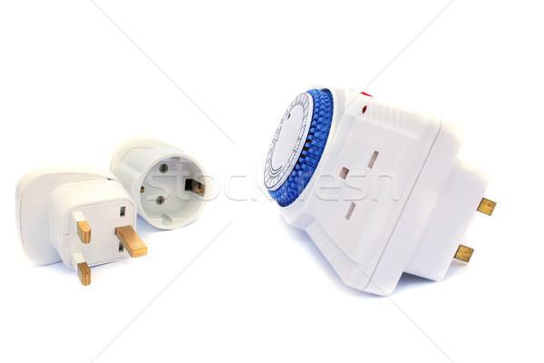Timer and plugs Stock photo © ruzanna