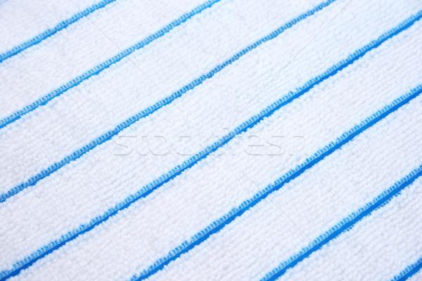 Tkaniny tekstury bawełny domu tle kuchnia Zdjęcia stock © ruzanna