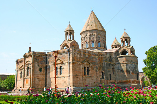 Ancient Apostolic church in Armenia Stock photo © ruzanna