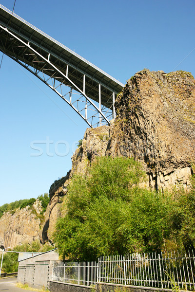 Bridge on rock Stock photo © ruzanna