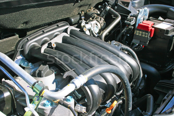 Yeni araç motor güçlü zincir dişli motor Stok fotoğraf © ruzanna