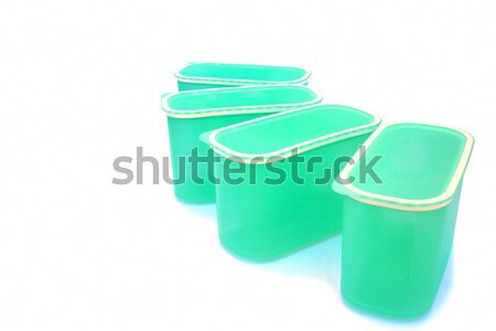 Plastic food container Stock photo © ruzanna