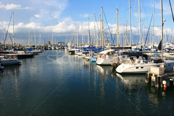 Larnaca port Stock photo © ruzanna