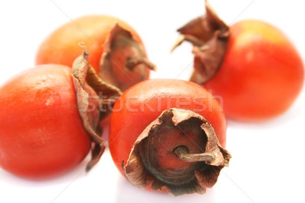 érett izolált fehér étel gyümölcs háttér Stock fotó © ruzanna