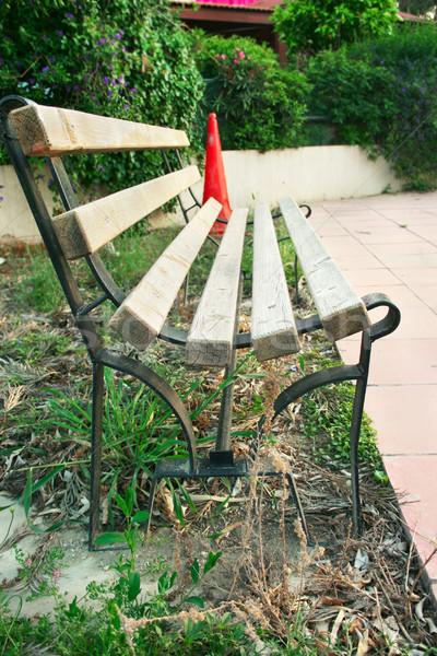 Alone bench Stock photo © ruzanna
