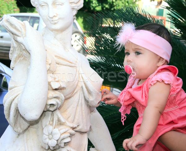 Baby girl Stock photo © ruzanna