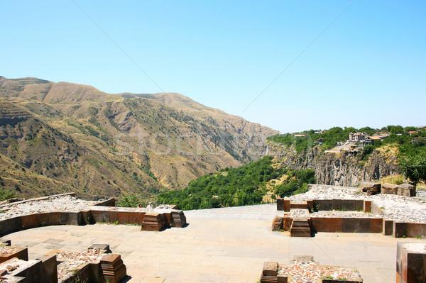 View from Garni temple Stock photo © ruzanna