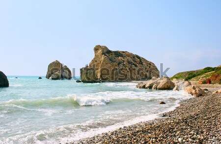 Aphrodite's legendary birthplace in Paphos, Cyprus Stock photo © ruzanna