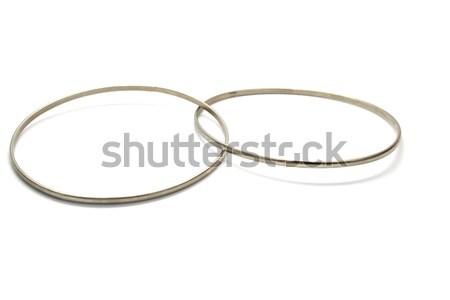 Karkötő fémes izolált fehér Stock fotó © ruzanna