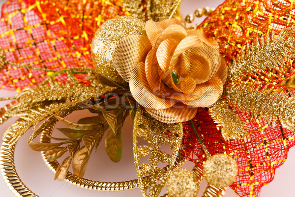 Navidad decoración colorido primer plano imagen diseno Foto stock © ruzanna
