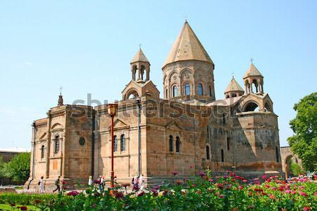 Ancient Apostolic church in Armenia Stock photo © ruzanna