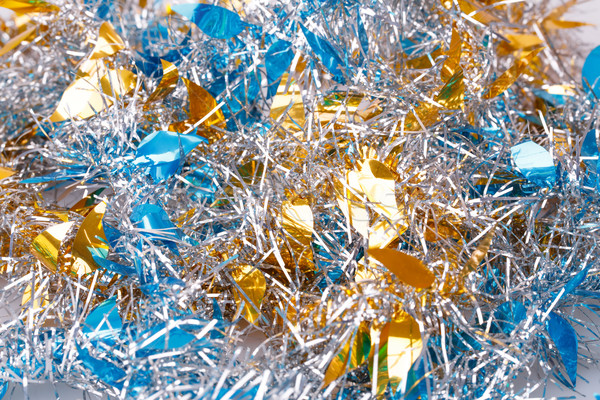 Рождества гирлянда зима синий цвета Сток-фото © ruzanna