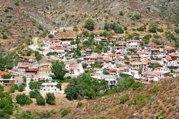 Cyprus village Stock photo © ruzanna
