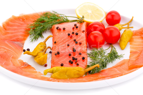 Salmon fillet Stock photo © ruzanna