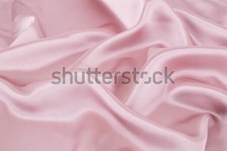 Seda tejido rosa moda resumen diseno Foto stock © ruzanna