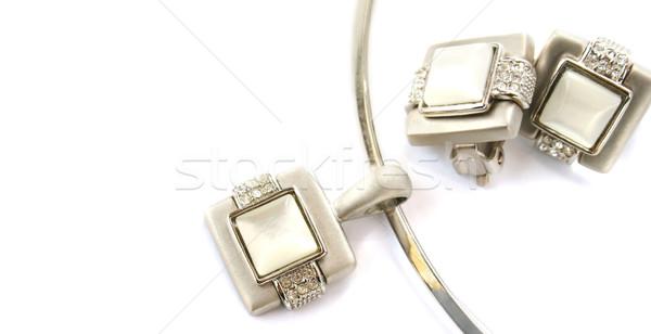 Necklace and clips Stock photo © ruzanna