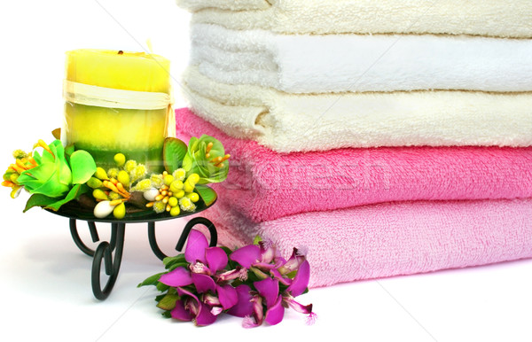 Towels Stock photo © ruzanna