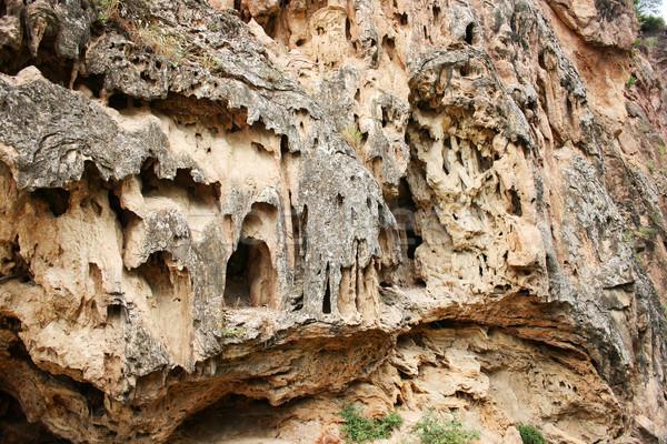 岩 アルメニア 悪魔 橋 自然 地域 ストックフォト © ruzanna
