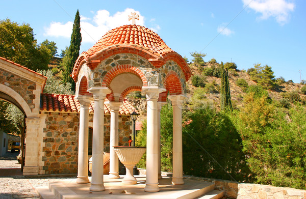 Machairas monastery Stock photo © ruzanna