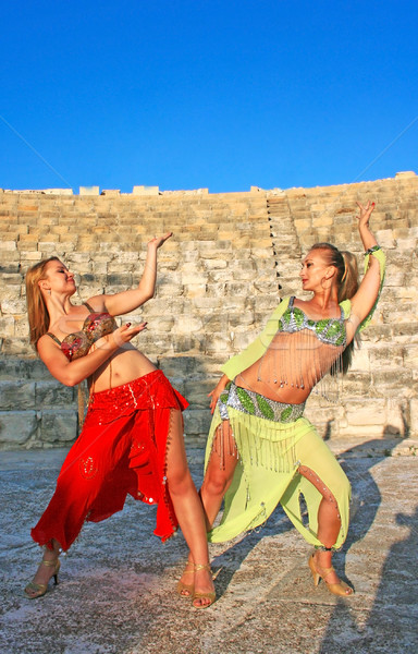 Belly dancers Stock photo © ruzanna