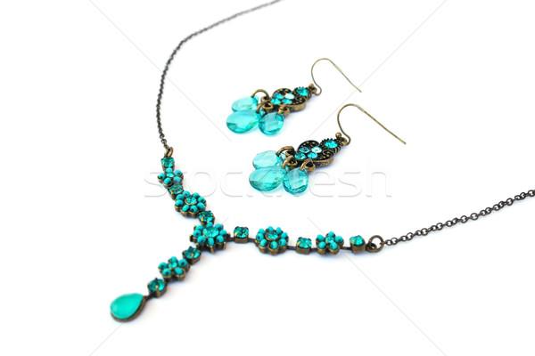 Necklace and earrings Stock photo © ruzanna