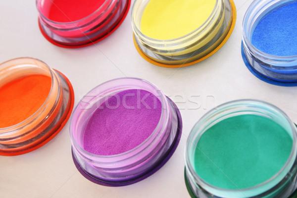 Colorful paints Stock photo © ruzanna