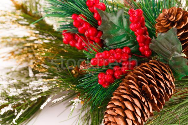 Navidad decoración colorido primer plano imagen fondo Foto stock © ruzanna