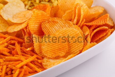 Batata trigo batatas fritas cinza grupo Foto stock © ruzanna