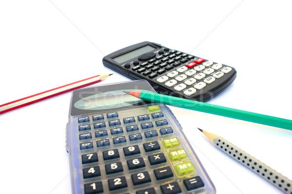 Calculators and pencils Stock photo © ruzanna