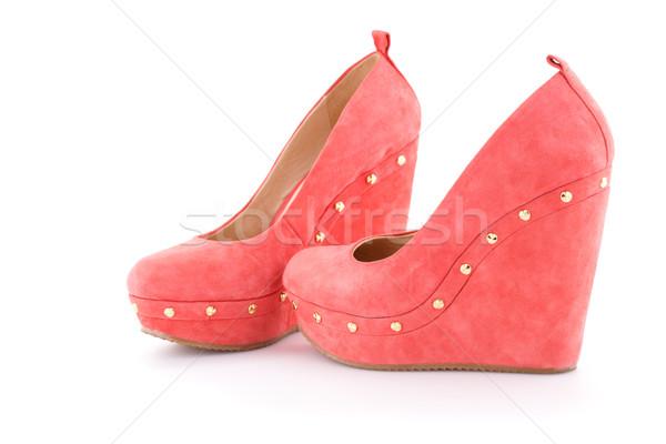 Red shoes Stock photo © ruzanna