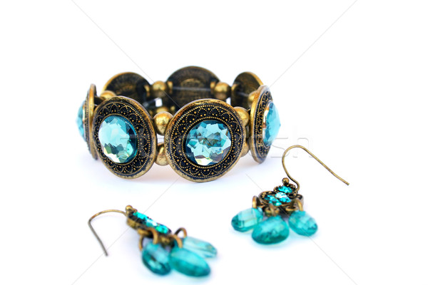 Bracelet and earrings Stock photo © ruzanna