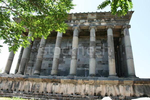 Garni temple Stock photo © ruzanna