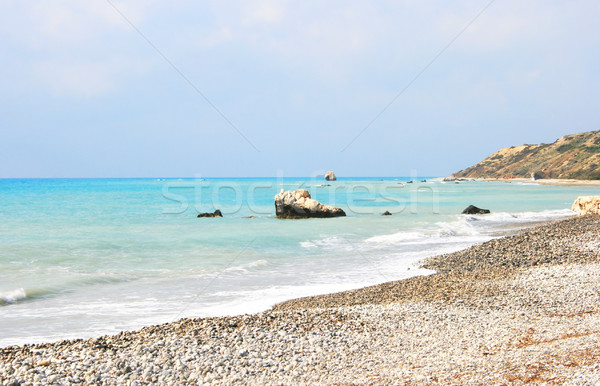 Aphrodite's legendary birthplace in Cyprus Stock photo © ruzanna