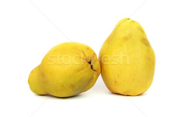 айва фрукты изолированный белый продовольствие фон Сток-фото © ruzanna
