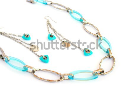 Necklace and earrings Stock photo © ruzanna