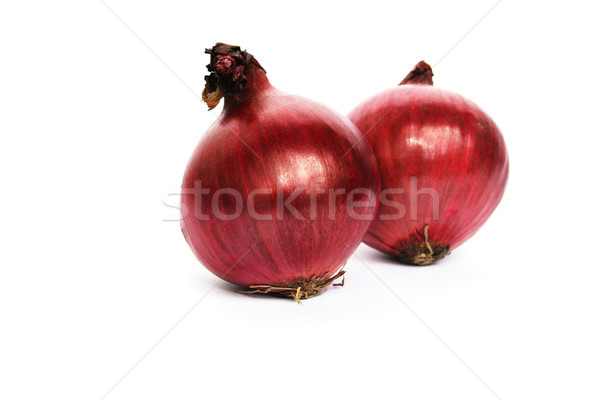 Red onions Stock photo © ruzanna