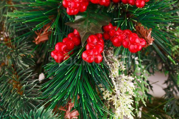 クリスマス 装飾 カラフル クローズアップ 画像 背景 ストックフォト © ruzanna