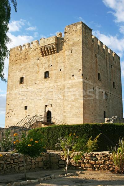 ストックフォト: 城 · キプロス · 重要 · 砦 · 中世 · 例