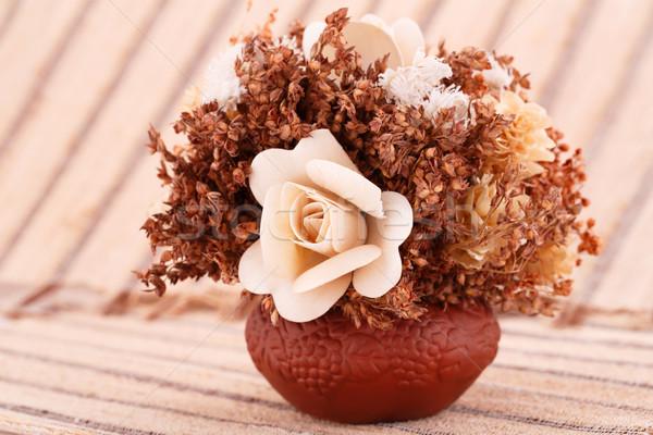 Flowers in vase Stock photo © ruzanna