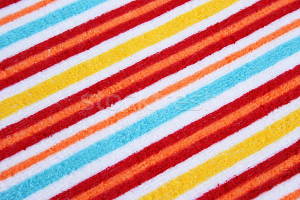 Törölköző textúra színes absztrakt fény egészség Stock fotó © ruzanna