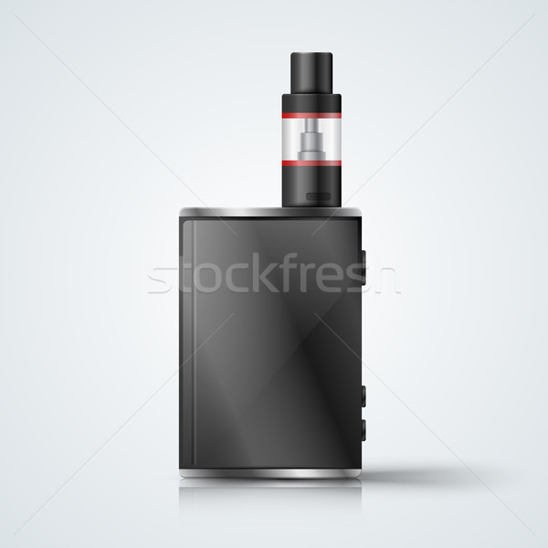 Harmful cigarette, viper, vape smoke Stock photo © rwgusev