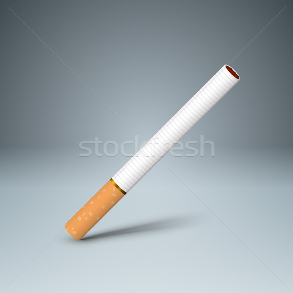 Business illustration of a cigarette and harm. Stock photo © rwgusev