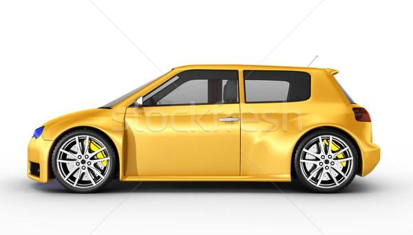 Sports car Stock photo © rzymu