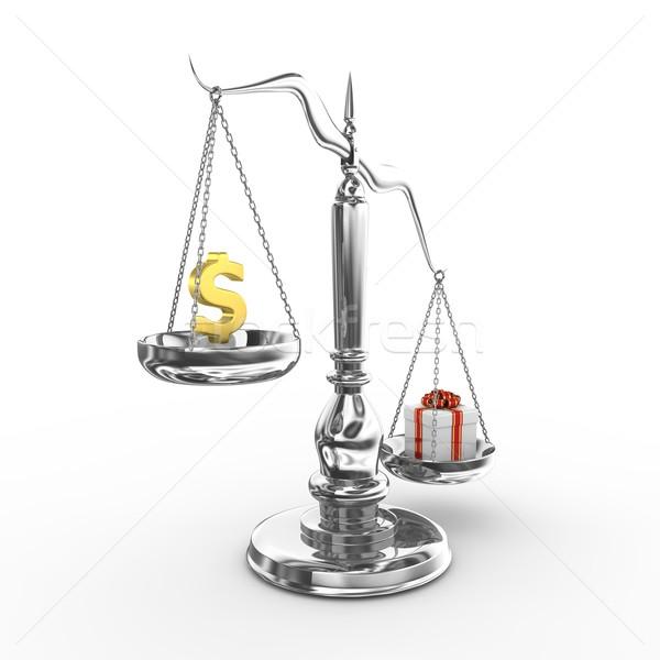 ölçek 3d render web hukuk sunmak yargıç Stok fotoğraf © rzymu