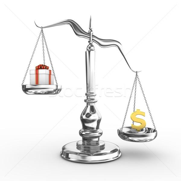規模 3dのレンダリング ウェブ 法 現在 裁判官 ストックフォト © rzymu