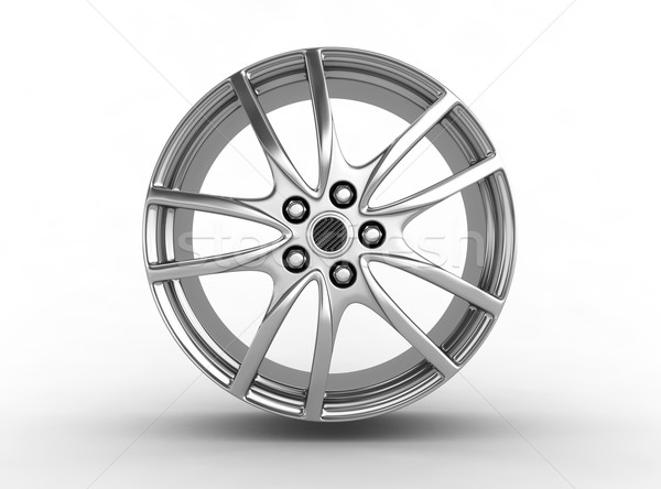 Tire with alloy wheel Stock photo © rzymu