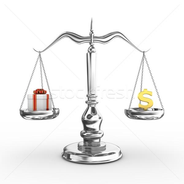 Stok fotoğraf: ölçek · 3d · render · web · hukuk · sunmak · yargıç