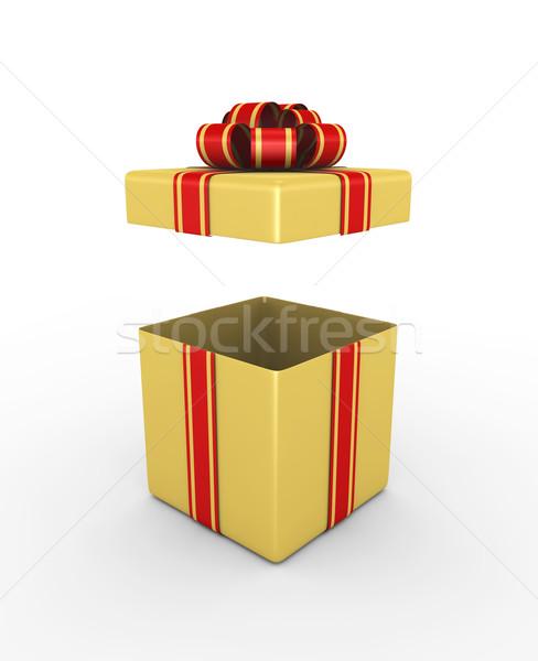 Gift box Stock photo © rzymu